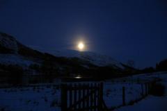 Full Moon - Light at midnight