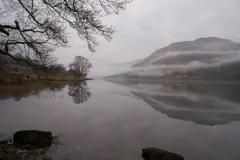 Mirror Loch in the Mist