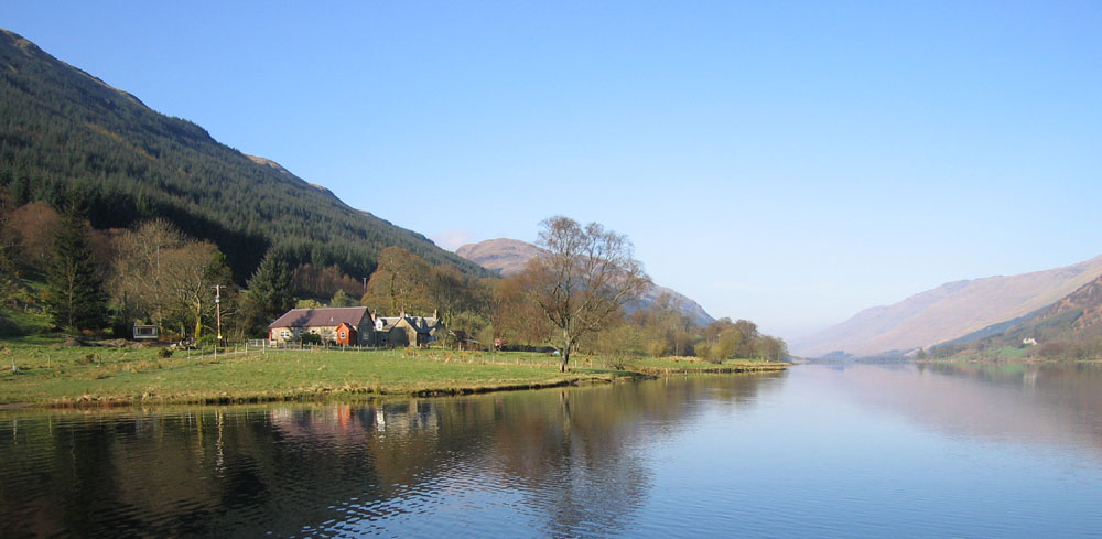 View from Loch Voil
