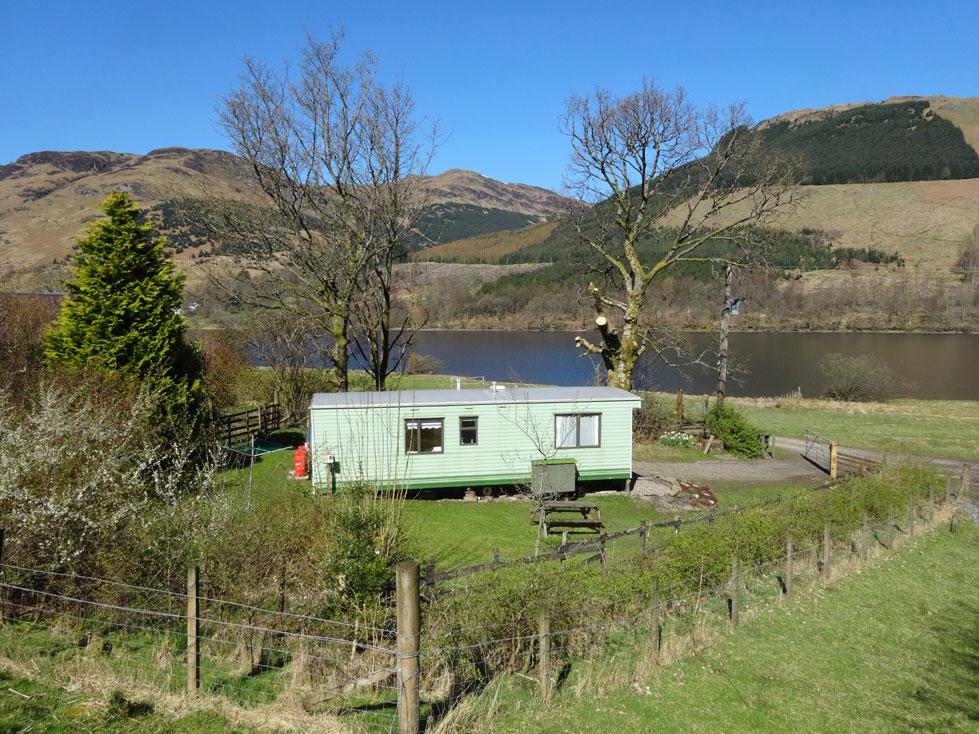 Lochside Caravan + Garden
